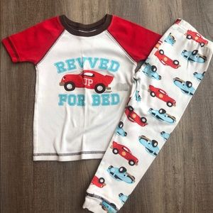 Just One You by Carter's race car pajamas